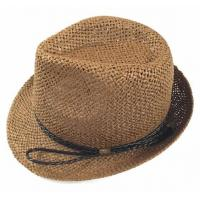 Buy cheap Straw Fedora Fashion Hats from wholesalers