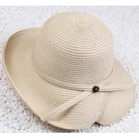 Cheap Womens Paper Straw Hat, Made of Paper Straw for sale
