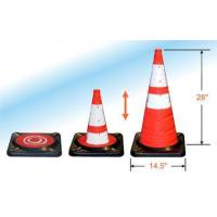 Buy cheap Pro Series Orange Collapsible Safety Cones from wholesalers