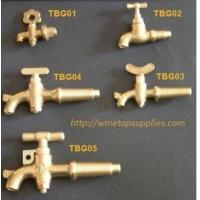 Buy cheap Wooden Barrel Brass Taps from wholesalers