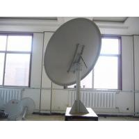 China Monoblock LNB Factrory sell C band plate steel 2.4M satellite dish antenna on sale