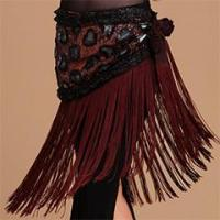 Buy cheap Professional Performance Tribal Belly Dance Hip Scarf,Belly Dance Tassel Belt from wholesalers