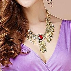 China Professional Performance Accessory Belly Dance Necklace,Belly Dance Accessory