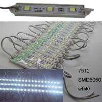 Buy cheap DC12V 7512 SMD5050 white 3 LED module from wholesalers