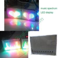 Buy cheap sound interactive music spectrum LED display panel from wholesalers