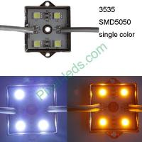 Buy cheap DC12V 3232 SMD5050 white amber 4 LED module from wholesalers