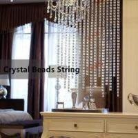 China Backdrop Customized Crystal High Quality Beads String on sale