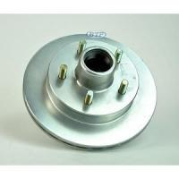 China UFP Boat Trailer Replacement 9.75 in Zinc 5 Bolt Integral Hub & Rotor on sale
