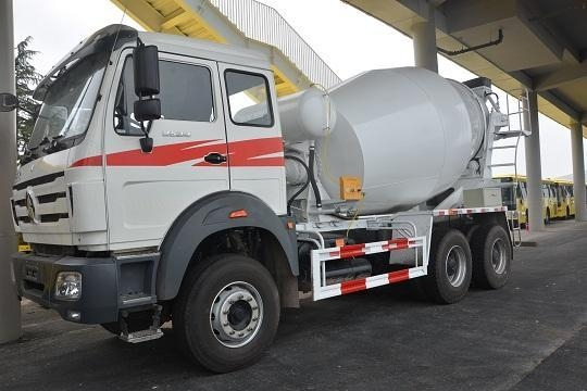 China Product Title: North Benz 6X4 Concrete Mixer Truck