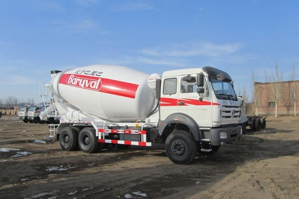 China Product Title: Beiben NG80 6x4 380hp Concrete Mixer Truck