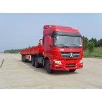 Best Product Title: Beiben V3 6x4 Tractor Head with 3 axle cargo trailer wholesale