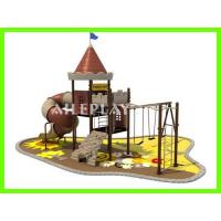 Cheap Kids Castle Outdoor Kids Plastic Playground Equipment for School QTL-AL17255 for sale