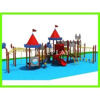 China Kids Castle Plastic Children's Outdoor Playground Equipment for School QTL-AL17258 on sale