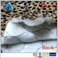 China PT1300910 hotsell 100% polyester double sided quilted fabric quilt fabric quilted fabric on sale
