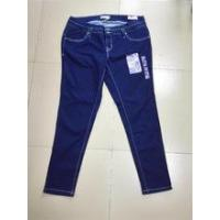 Buy cheap 2016 70%Cotton28%Polyester2%Spandex Ladies' plus size jeans KF8752 from wholesalers