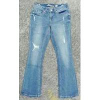 Buy cheap ladies'99%cotton 1%spandex jeans stocks from wholesalers