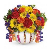 Best Birthday Teleflora's Brilliant Birthday Blooms.No.6 delivery birthday to wholesale