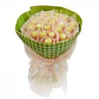 Best Birthday bouquet of 21 pieces of ferrero rocher NO.3 delivery birthday wholesale