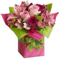 Best Birthday Pretty Pink Present delivery NO.4 birthday gift to australia syd wholesale