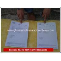 China Glass wool Meeting AS/NZS 4859.1/Glass wool batts/HOME Insulation FOR AUSTRALIA on sale