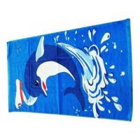 China Fiber Reactive Printed Beach Towel on sale