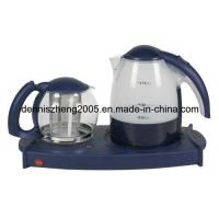 Best Electric Tea Maker Tray with 1.7L Kettle and 1.4L Tea Pot Trade Terms:FOB wholesale