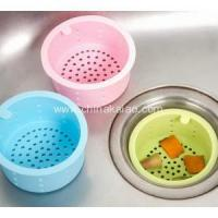 China Kitchenware Tools Silicone Sink Strainer Drain Filter on sale
