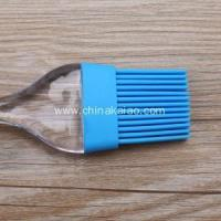 China Hot selling Bright Color Cheap Silicone BBQ Cooking Brush on sale