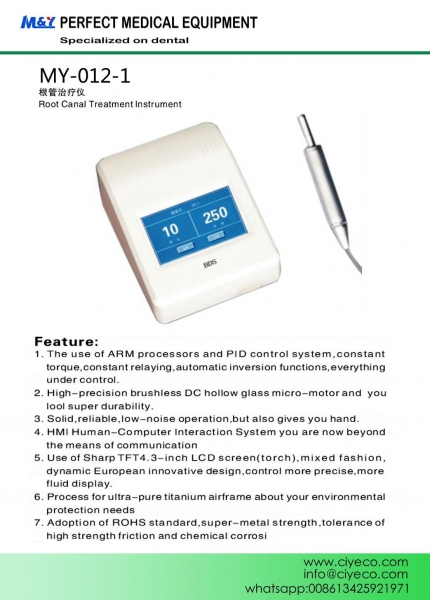 China Root Canal Treatment Instrument