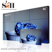 Buy cheap 46 Inch wall mounted digital LCD video wall display with hd 1080p hdmi input SL-VW460 product