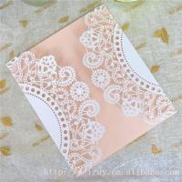 Buy cheap Wholesale wedding invitation cards laser cut lace wedding invitations greeting card from wholesalers