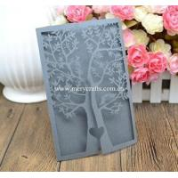 Buy cheap Wedding invitation card tree design laser cut christmas invitation card wedding invitations from wholesalers