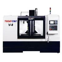 Buy cheap Hobby CNC 5 Axis High Speed Vertical Lathe Machine Precision Milling Machining Center V-8 from wholesalers