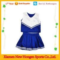 China 100% polyster professional custom made sublimated cheer dance costumes on sale