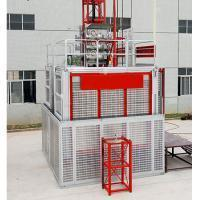 SCB200/200 2t Double Cages Construction Hoist with Frequency Converter