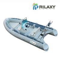 Best Rilaxy 4.3m 14ft rigid inflatable boat with center console wholesale