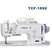 China TOPEAGLE TCF-1898 compound feed single needle industrial sewing machine on sale