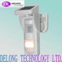 Best independent solar Alarm infrared heat detector With Sound and Light Alert wholesale