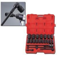 """Best 22-pc 3/4"""" Dr. Deep Impact Socket Set CR-MO (6-point model, SAE approved) wholesale"""