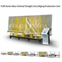China Glass Vertical Edger Edging Machine Automatic Factory Price Easy to Operate FLM Series on sale