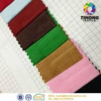 Best Dyed cotton corduroy stripe fabric wholesale