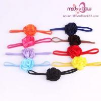 China Baby Flower Headbands Hair Accessories For Girls on sale
