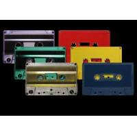 China 731 Music Grade Tabs-Out Cassettes in Color Shells on sale