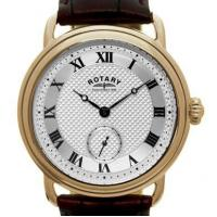 China Rotary mens PVD rose gold watch on sale