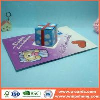 Buy cheap Easy Flower Handmade Pop Up Card For Mother's Day from wholesalers