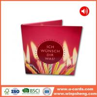 Buy cheap Custom Talking Birthday Card For Friends from wholesalers