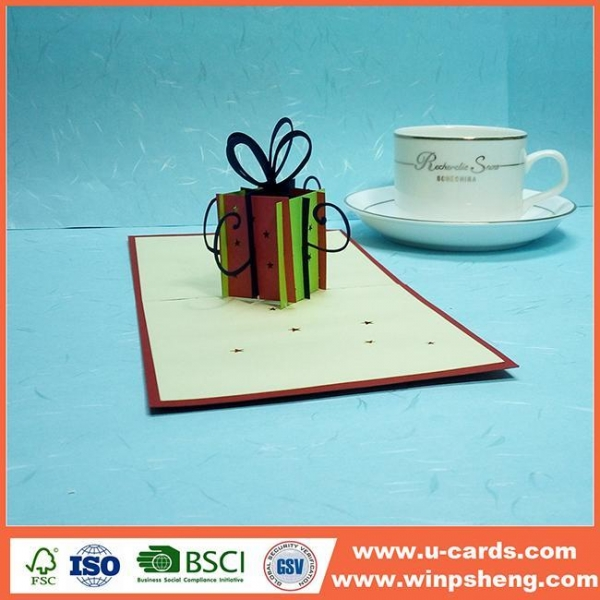 China Most Popular 3d Christmas Cards Designs