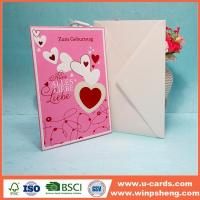 Best Hot High Quality Best Wishes Sweet Simple Handmade Birthday Cards For Wife wholesale