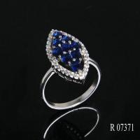 China Rings R7371 Fashionable 925 Silver Statement Jewelry Woman on sale