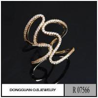 Best Rings R7566 Gold Plated Handmade Silver Jewelry wholesale